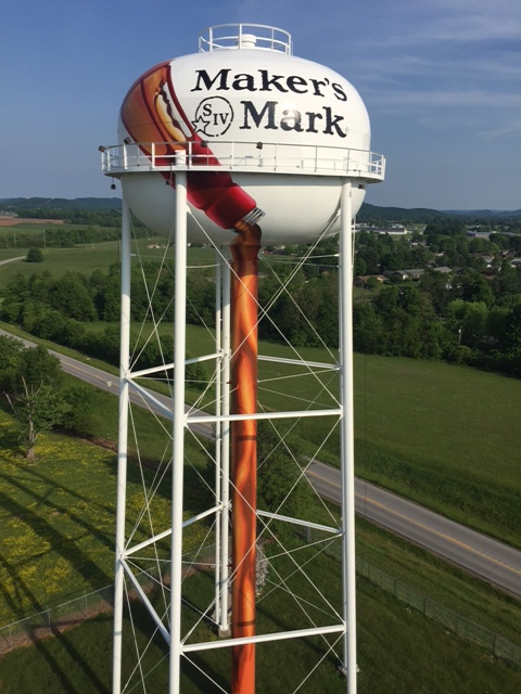 Maker's Mark Water Tower