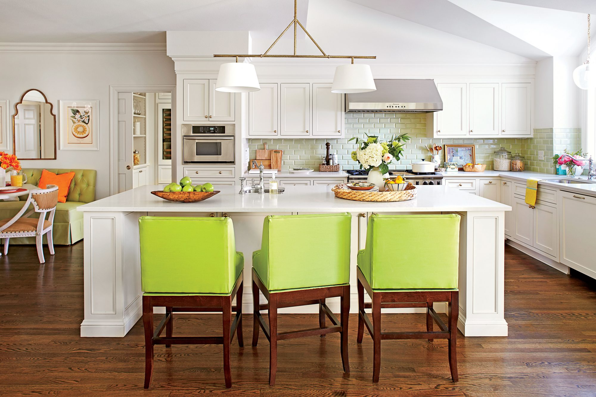 Lime and Citrus Kitchen