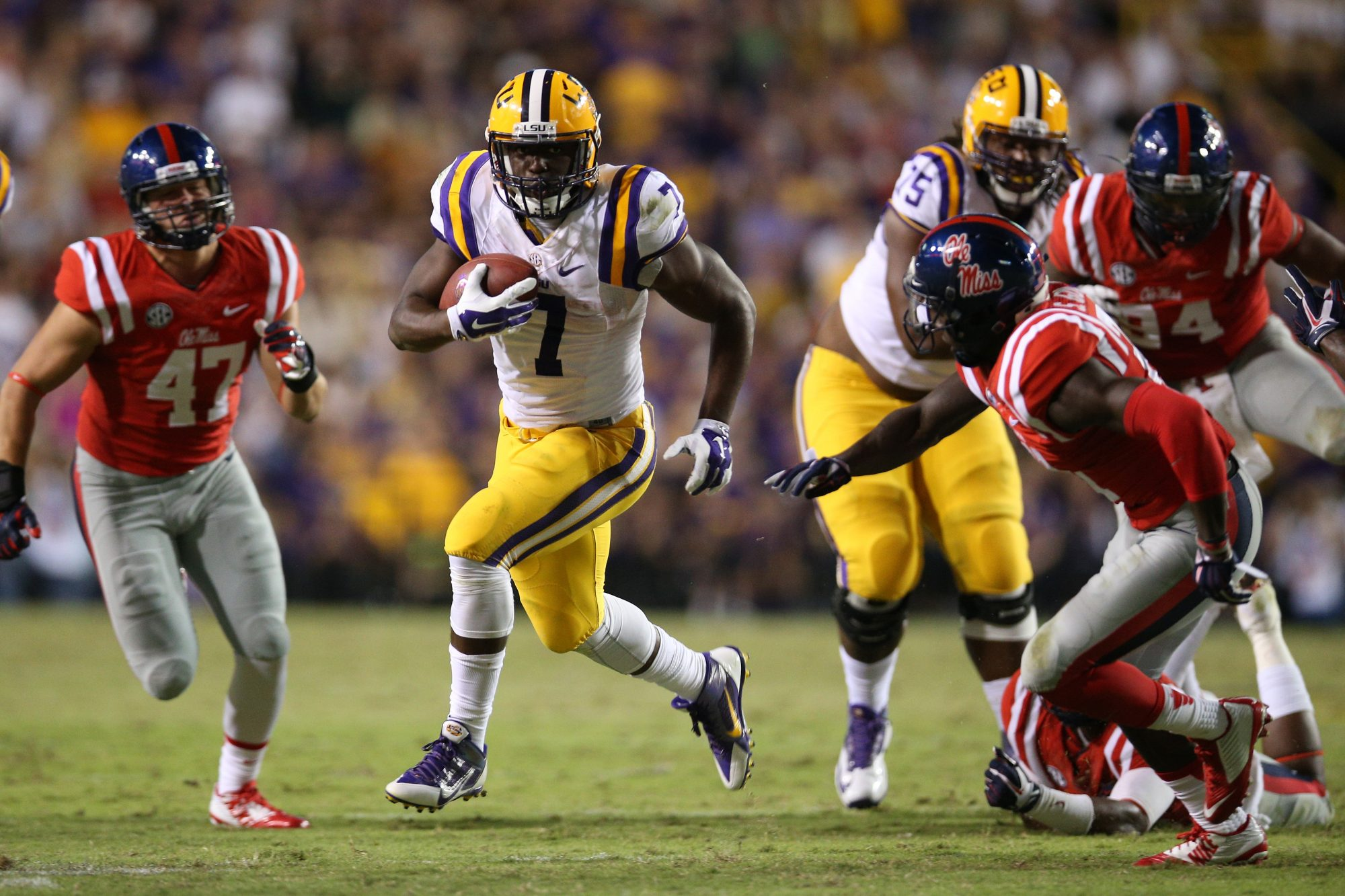 LSU vs. Ole Miss Football