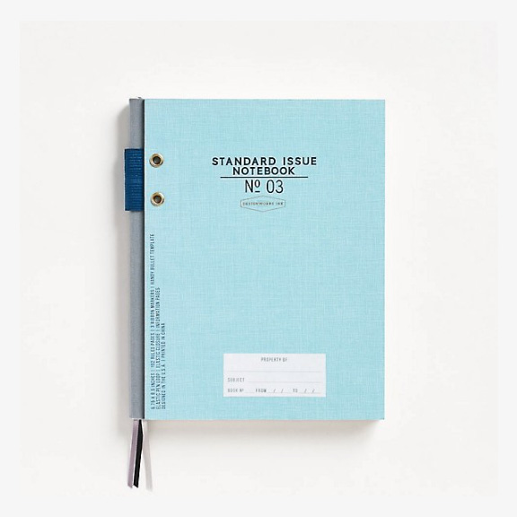 Blue Standard Issue Notebook No. 3