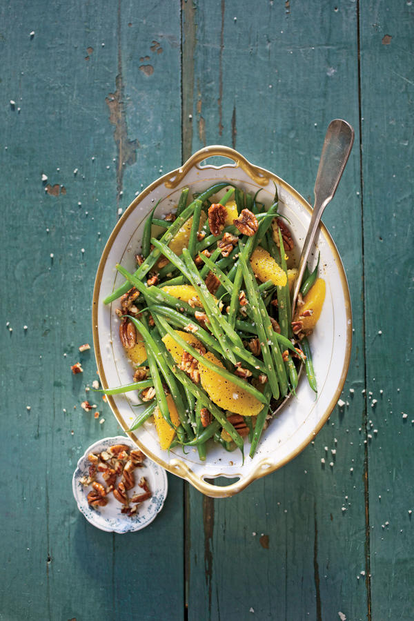 Green Beans with Citrus and Pecans