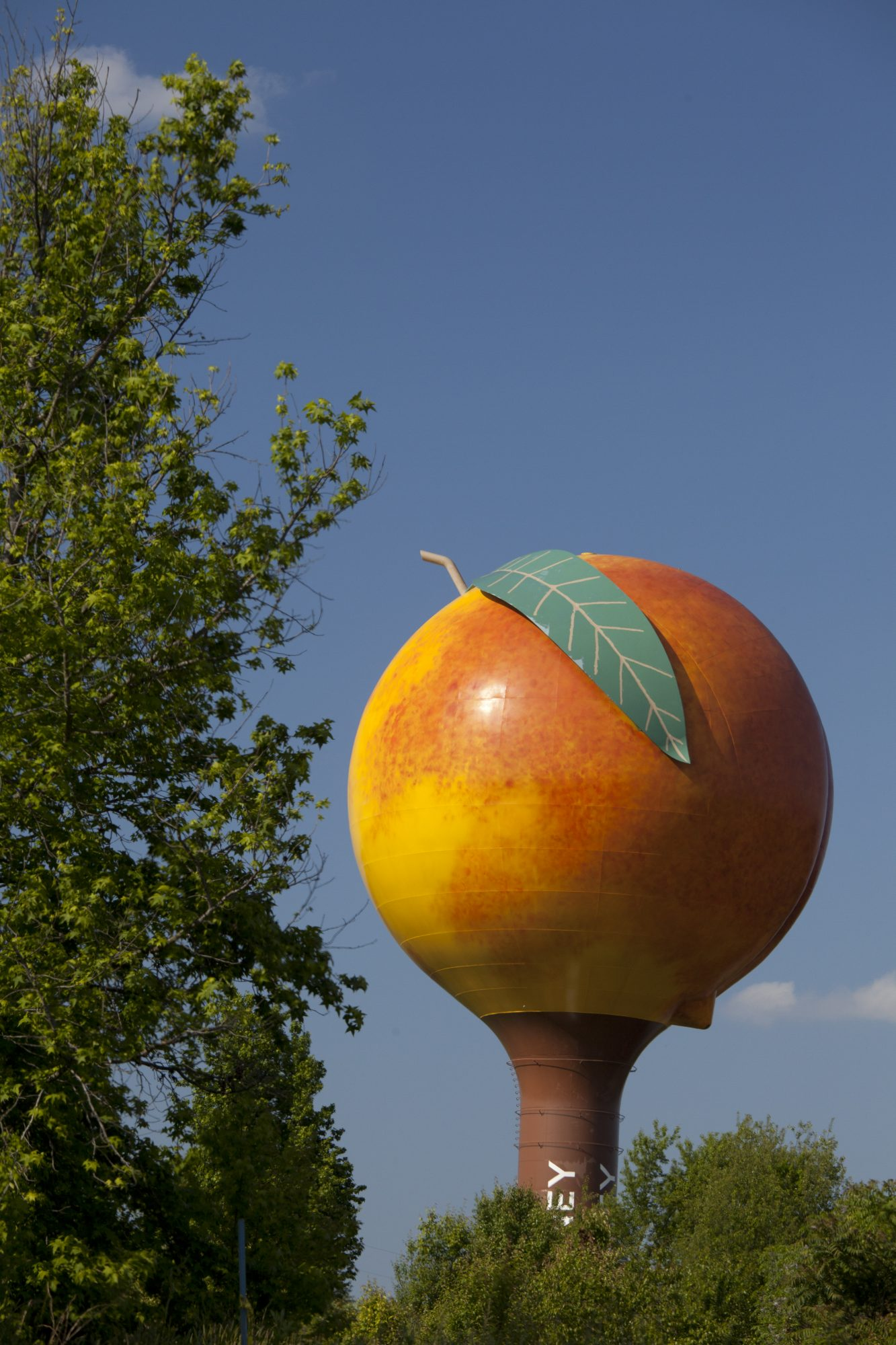 Peachoid Water Tower in Gaffney, SC