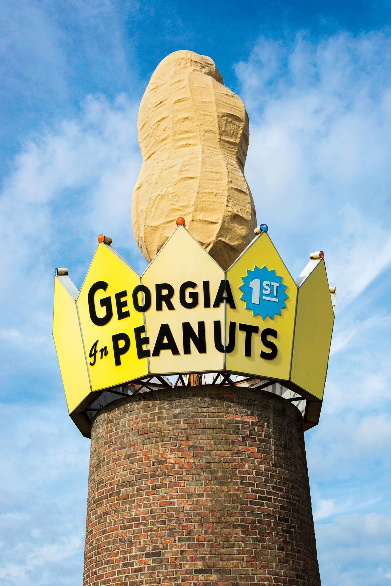 World's Largest Peanut in Ashburn, GA