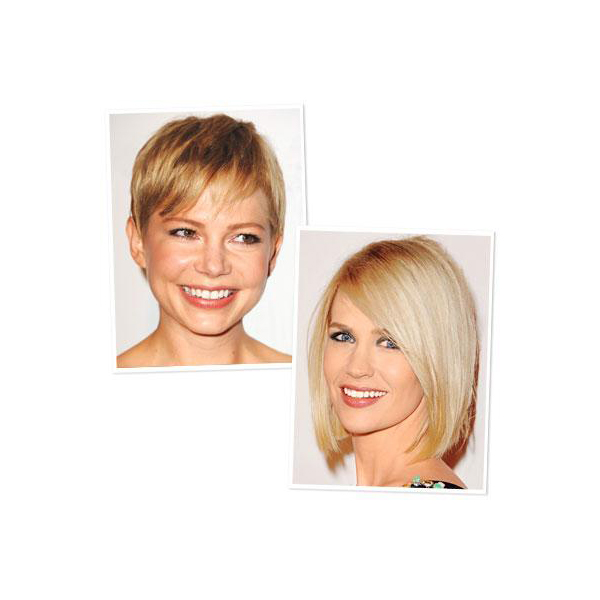 Fair Skin Tone: Jessica Simpson and Michelle Williams