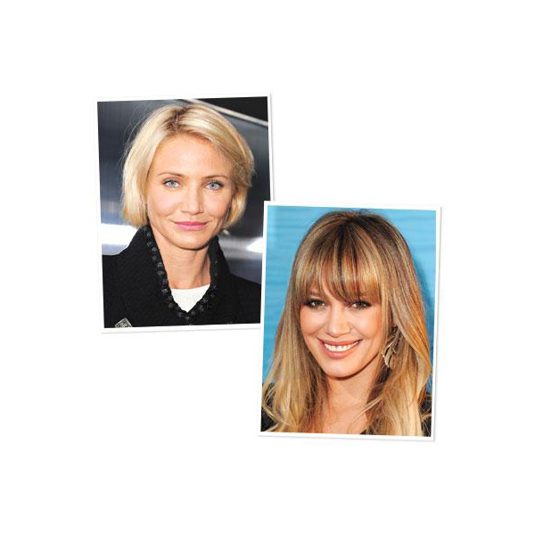 medium skin tone: Cameron Diaz and Hilary Duff