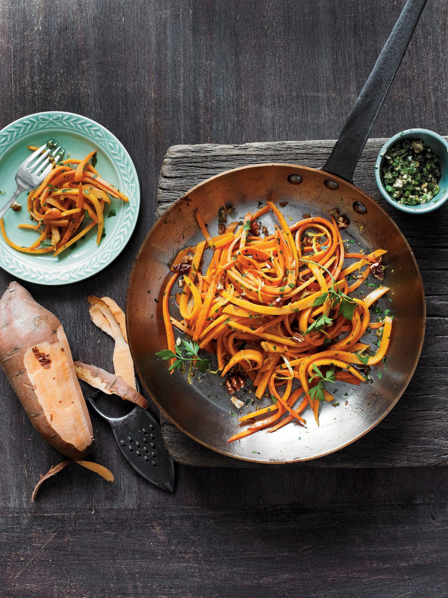 Sweet Potato Fettuccine