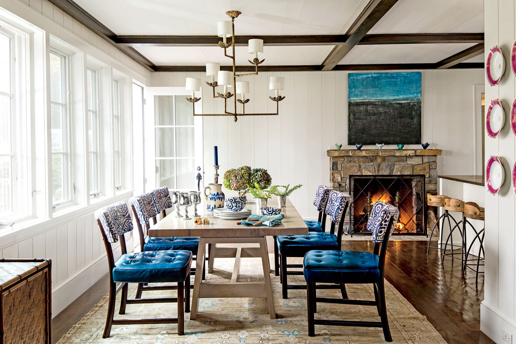 The Breakfast Room: Add a Pop of Pattern