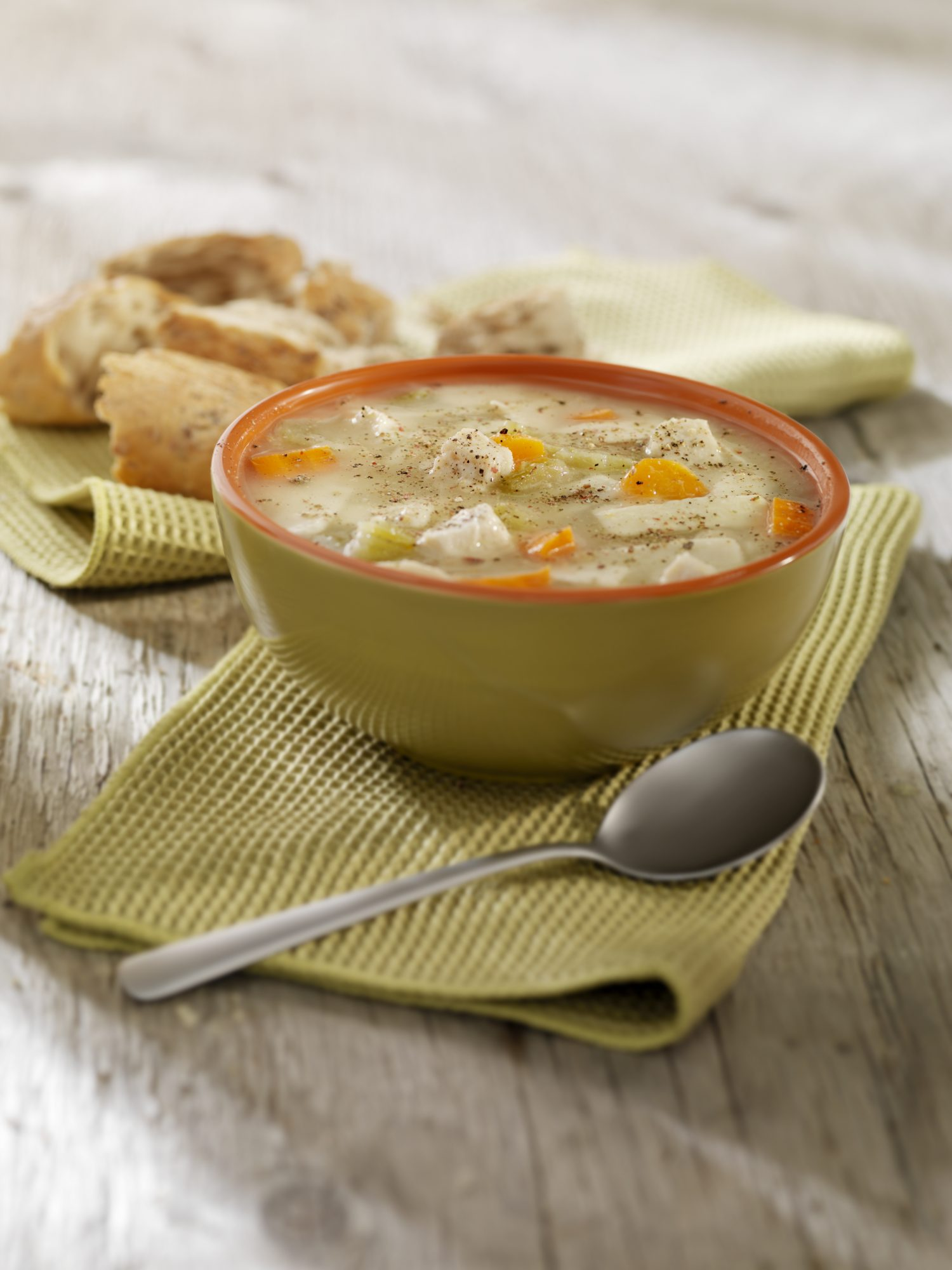 Chicken Soup for Sore Throat