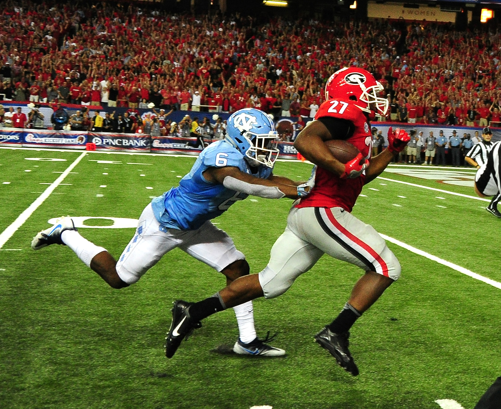 Nick Chubb Georgia Football