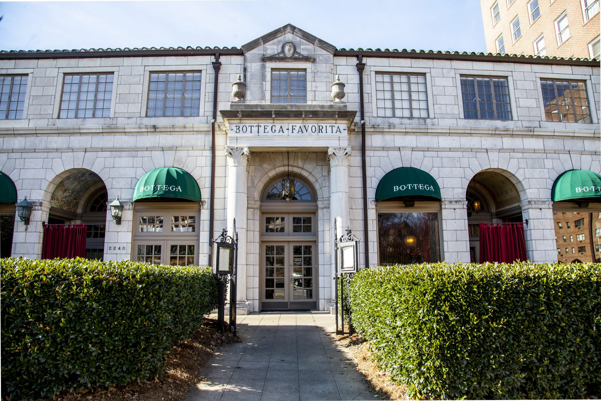 Bottega Restaurant on Highland Avenue in Birmingham, AL