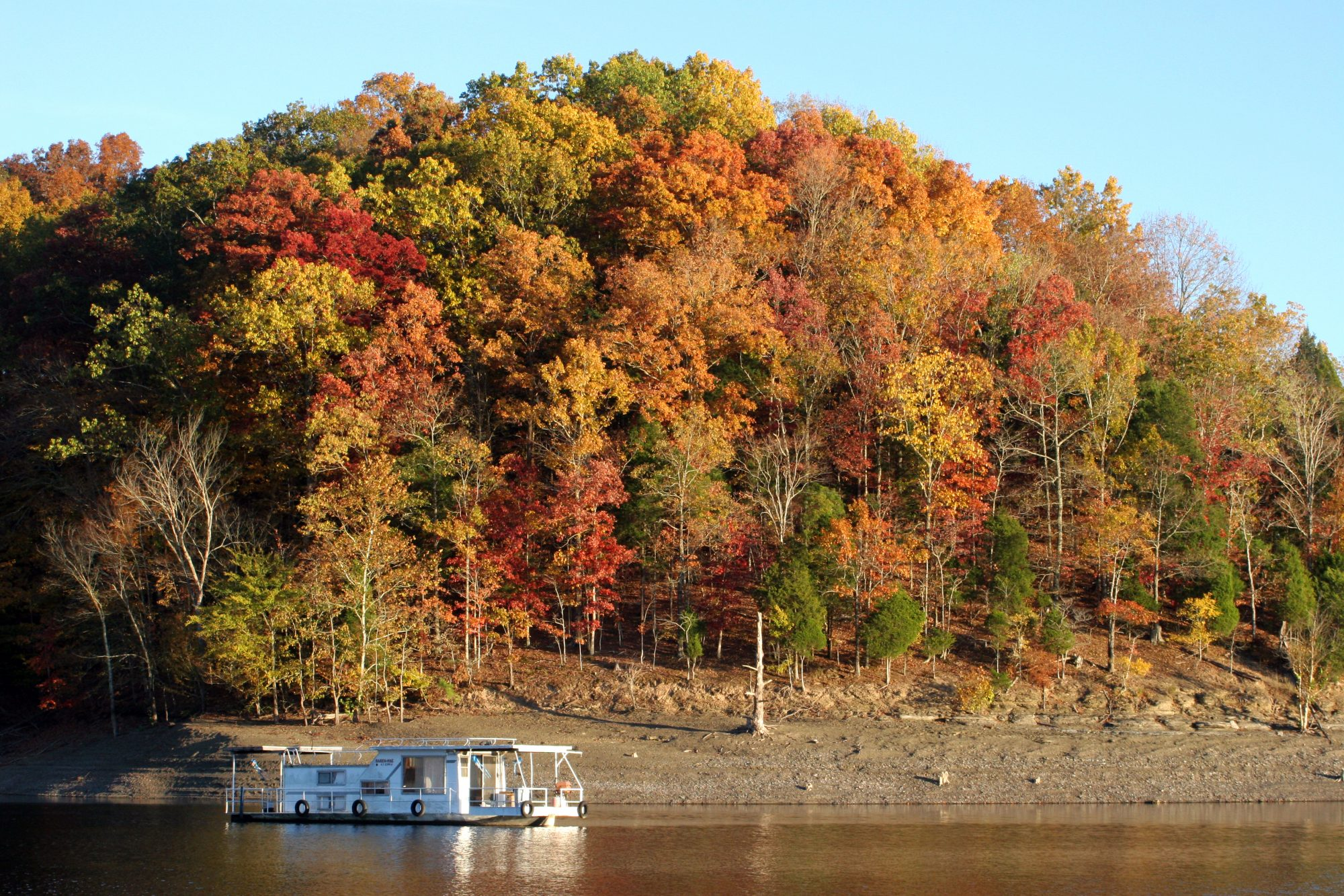 Dale Hollow Lake Fall Color