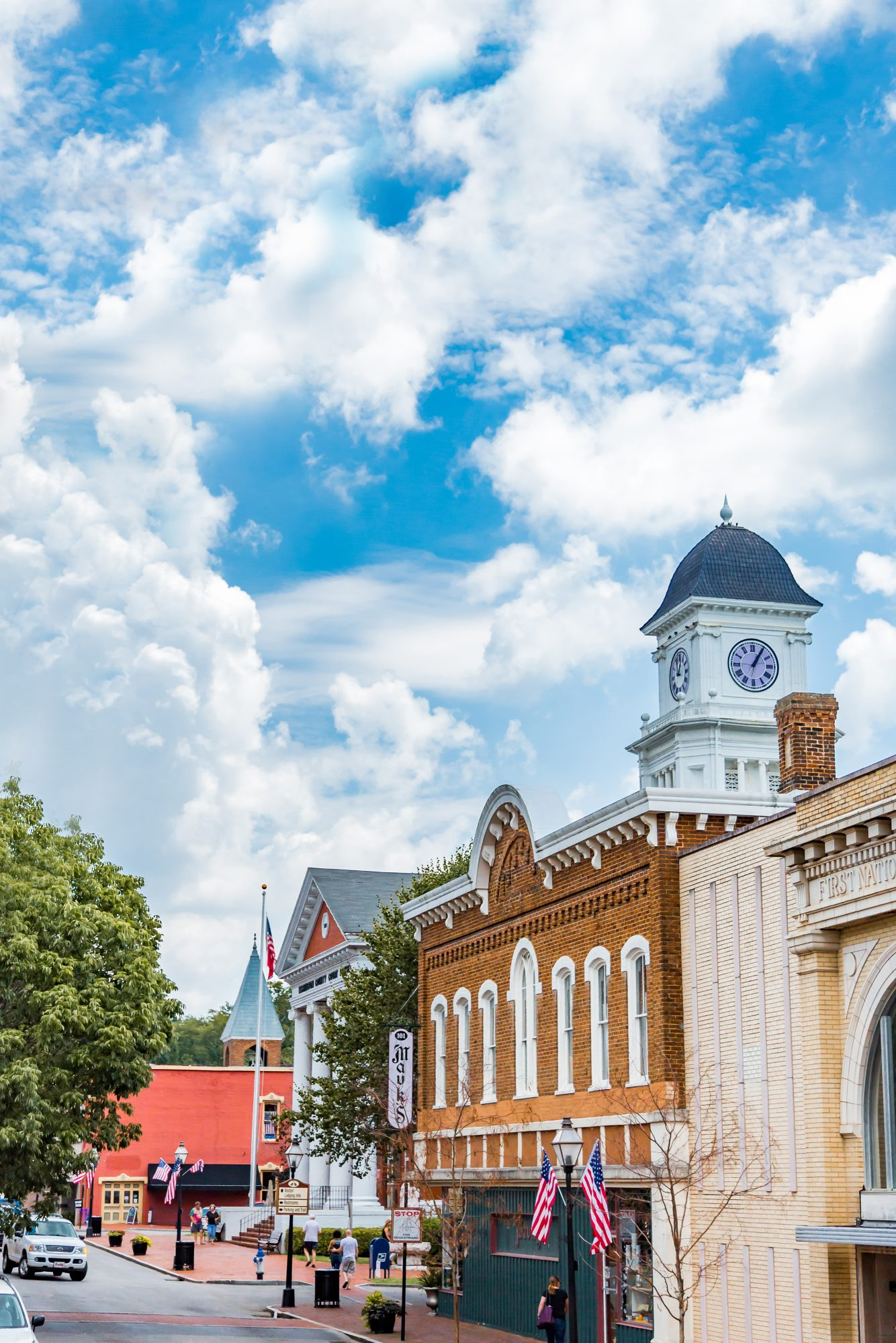 Main Street in Jonesborough, TN