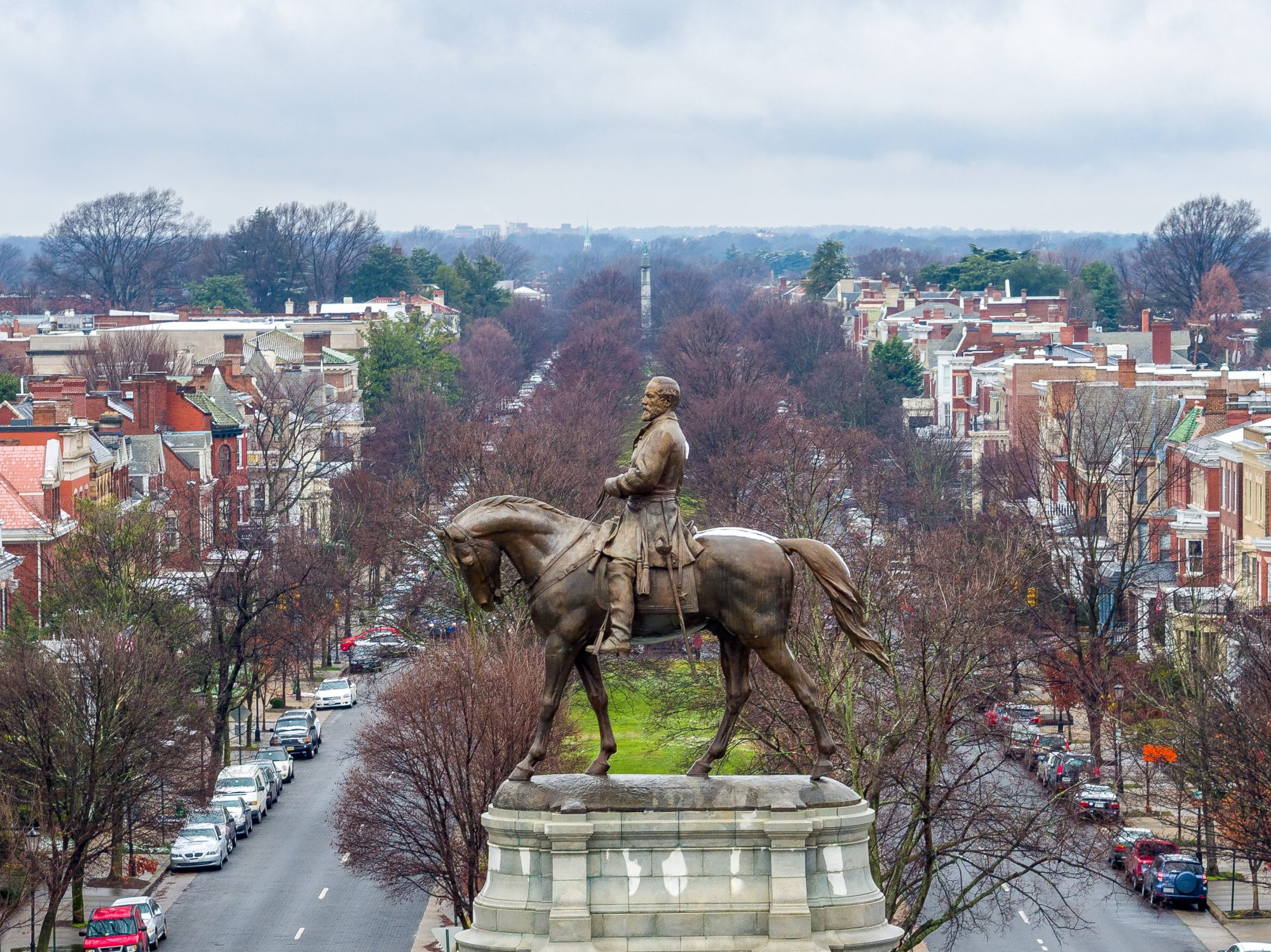 Monument Avenue in Richmond, VA