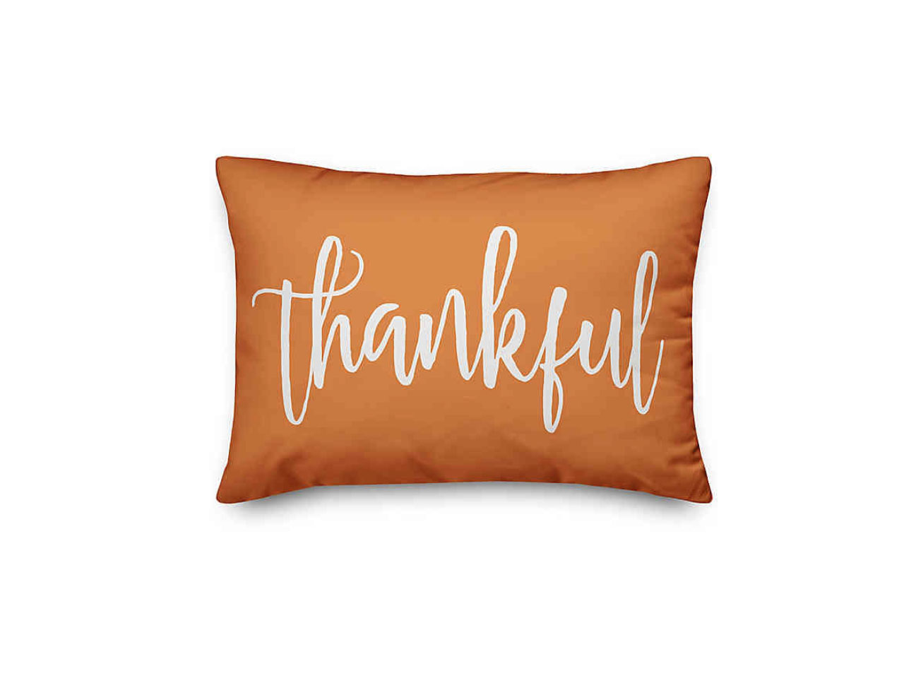 Thankful and Blessed Oblong Throw Pillow