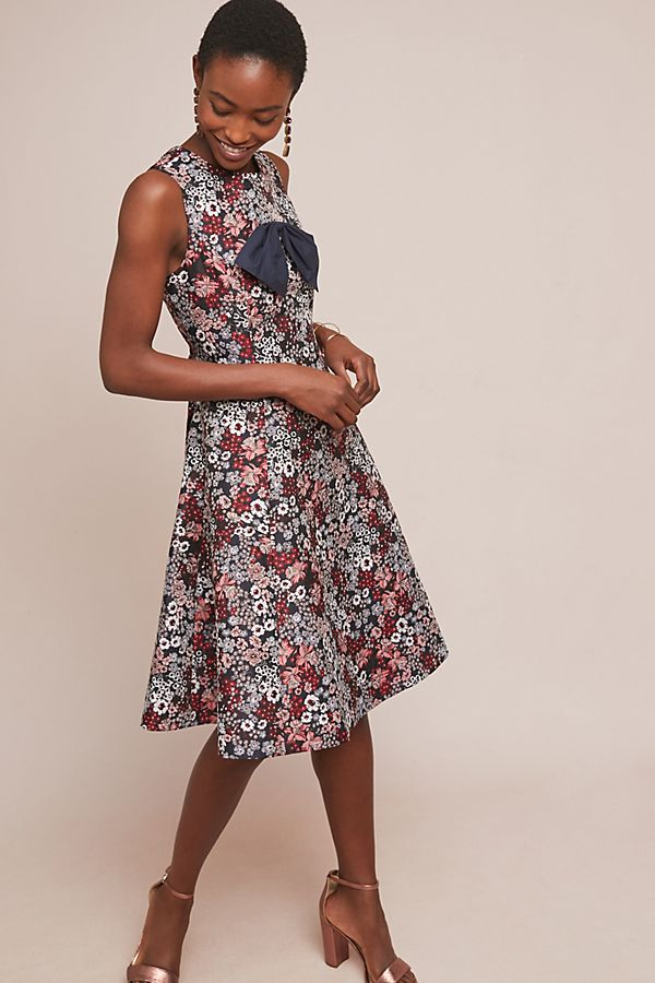 Bow-Tied Floral Dress