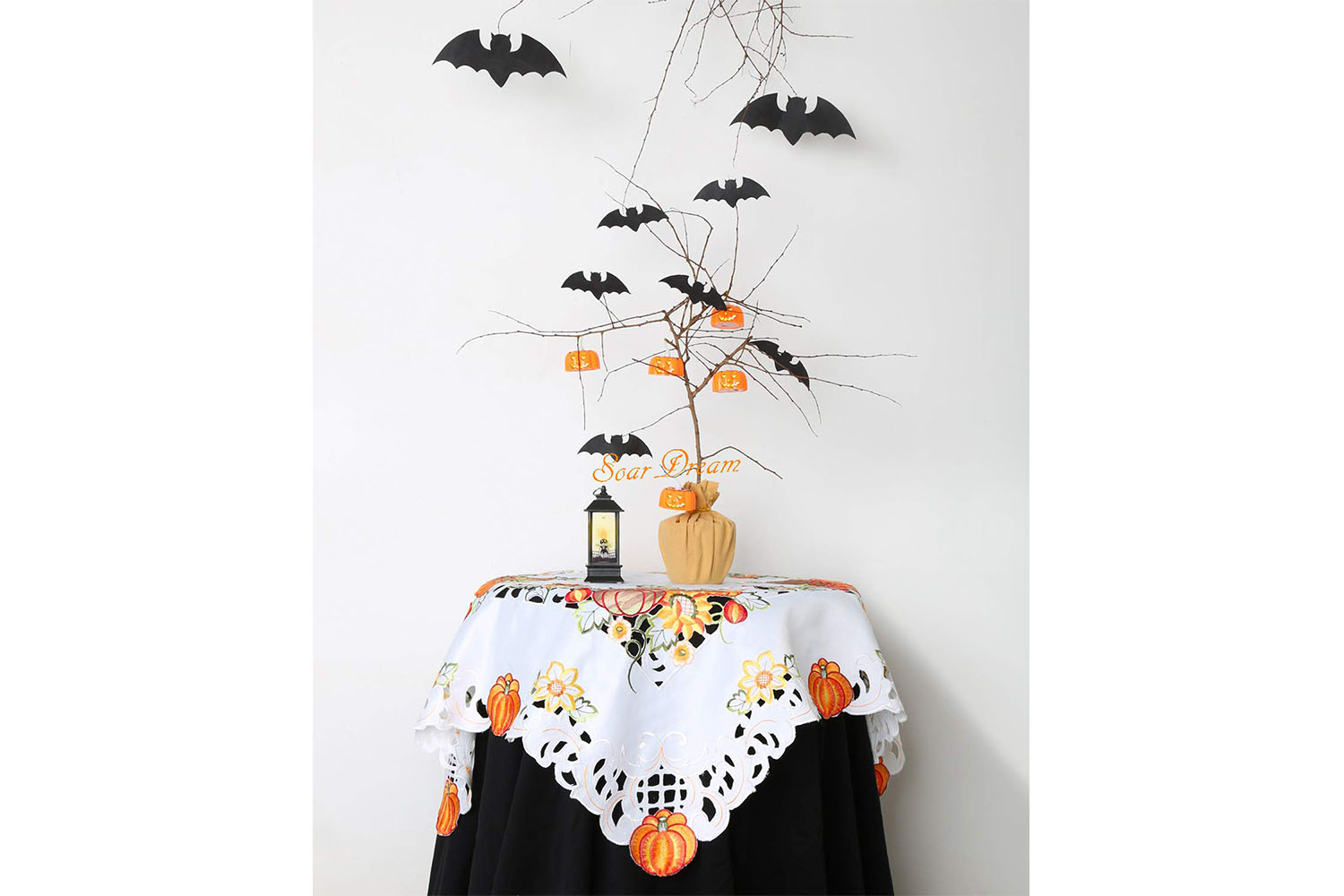 Lacy Pumpkin Tablecloth