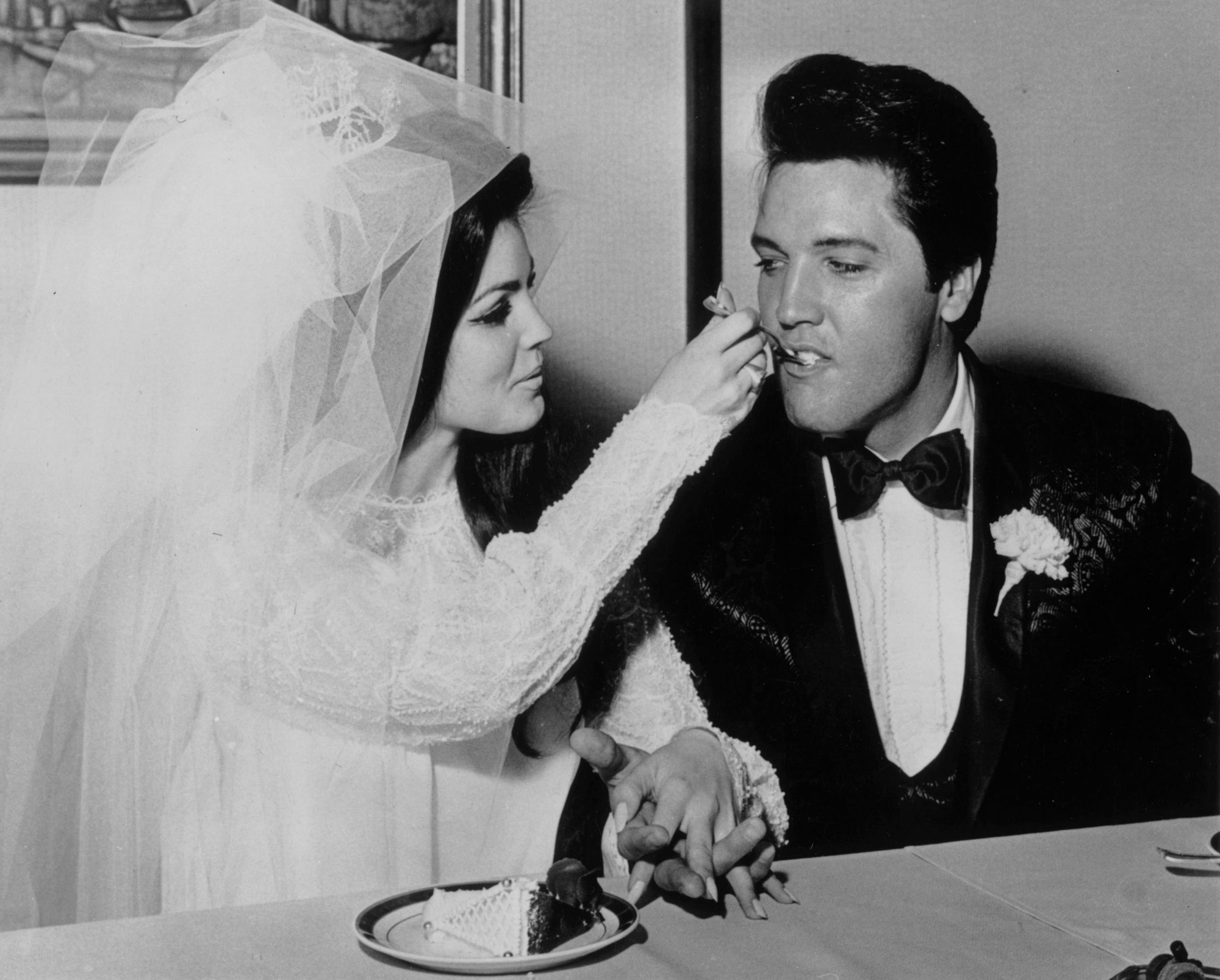 Elvis Presley and Priscilla Presley Wedding