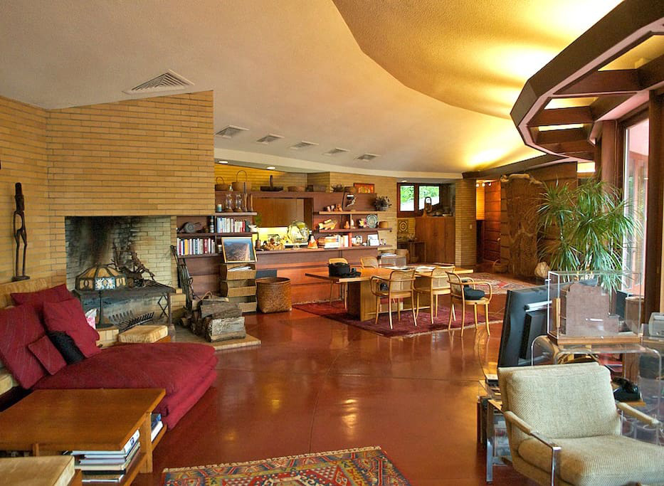 The Cooke House in Virginia Beach: Living Room