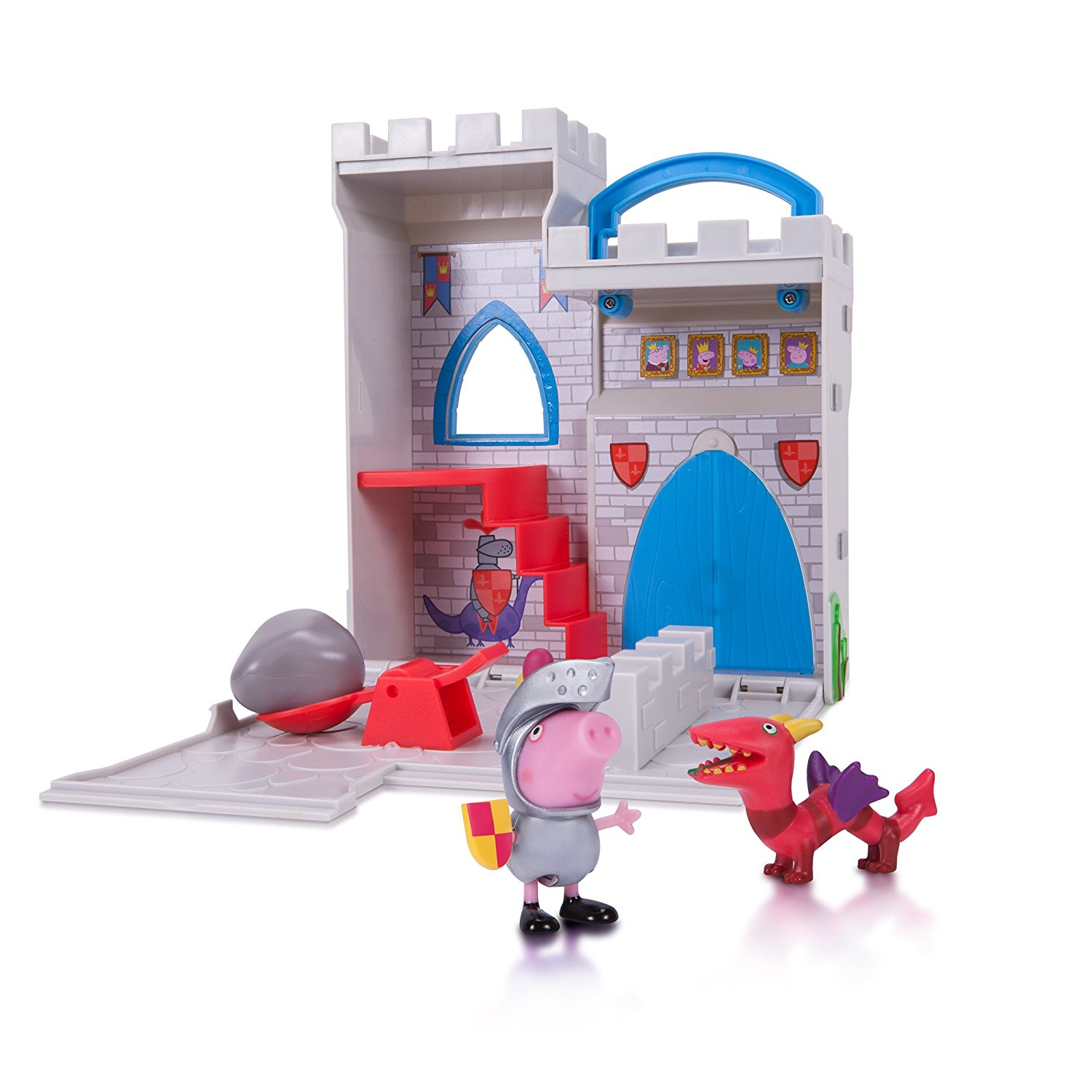 Peppa Pig Castle Fort Little Places Play Set