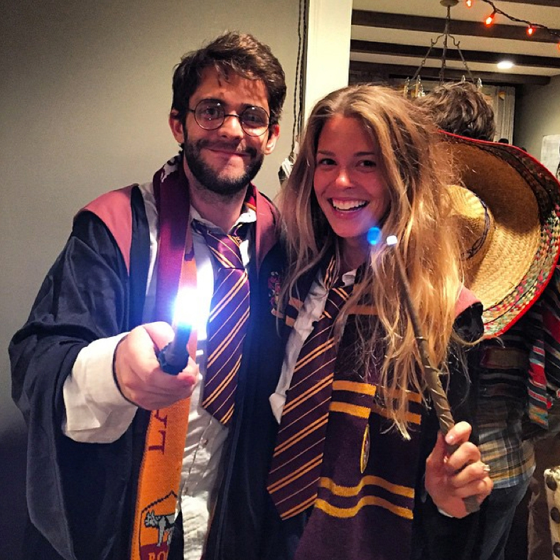 Thomas Rhett and Lauren Akins Harry Potter Halloween Costume