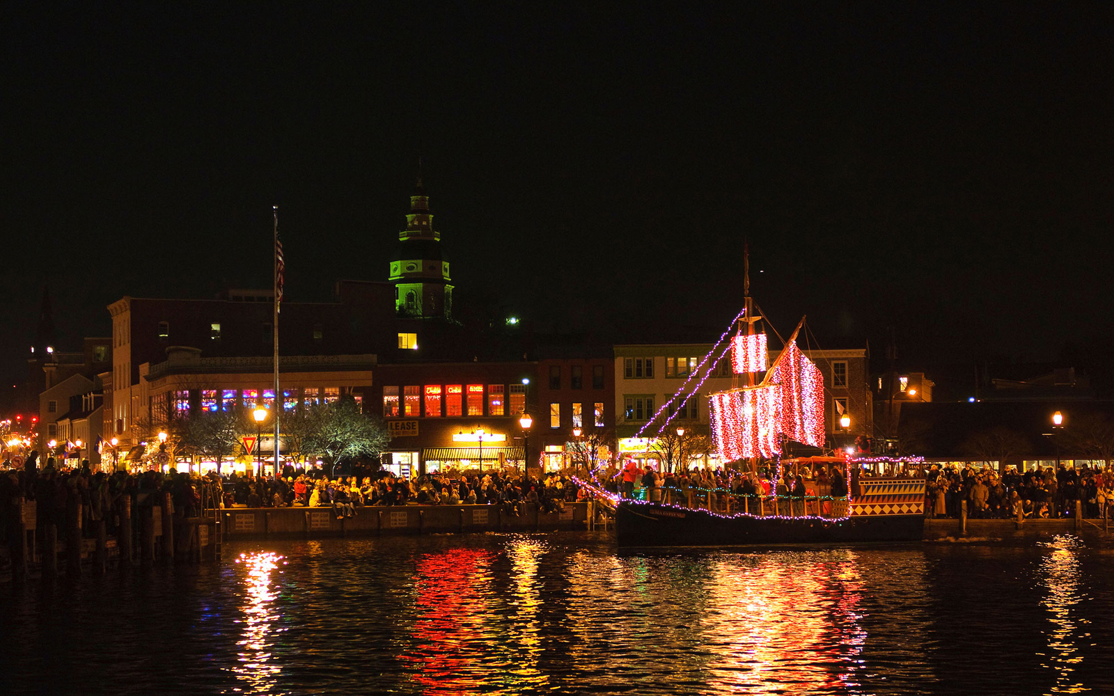 Annapolis, Maryland During the Holidays