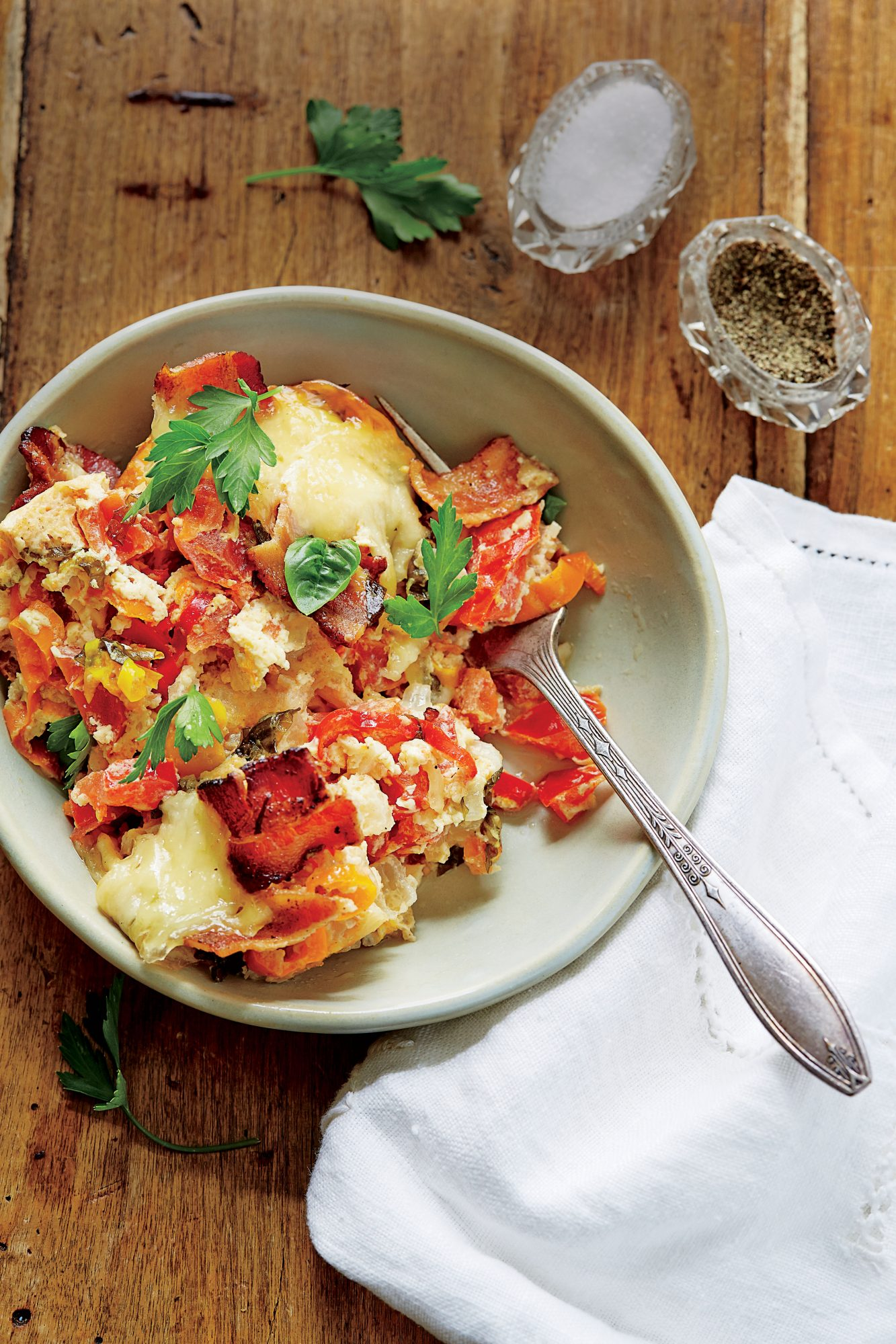 Bacon-and-Tomato Breakfast Casserole Recipe Southern Living