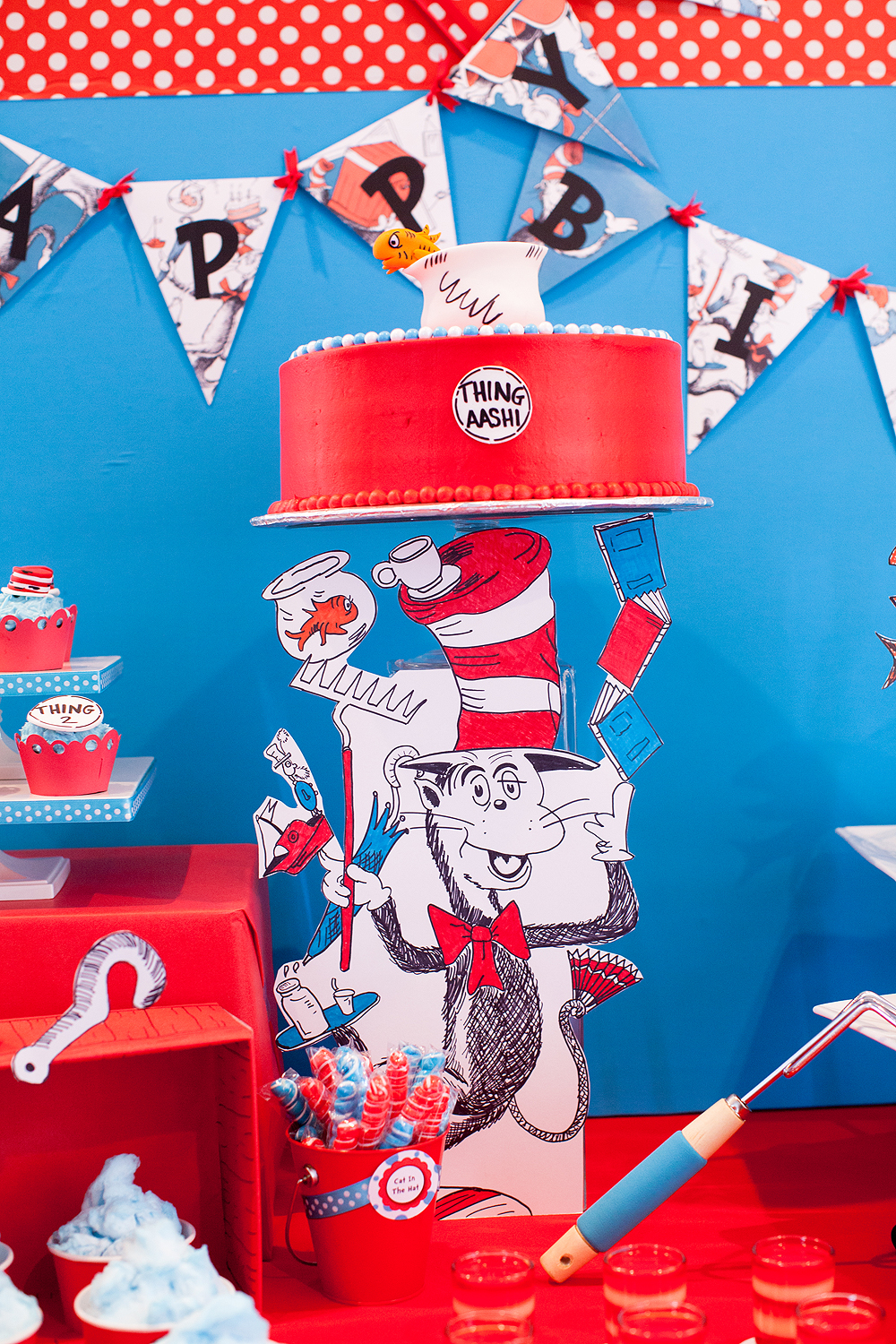 Creative Kids' Birthday Party Cat in the Hat 2