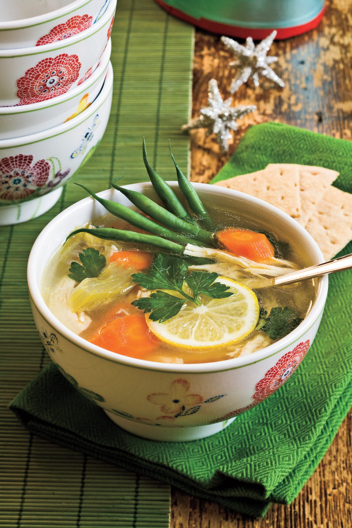 Chicken Soups Lemon-Chicken Soup