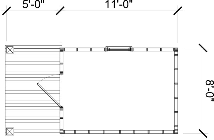 Garden Shed Plan Graphic