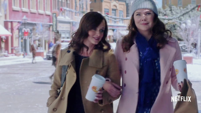 Gilmore Girls Drinking Coffee