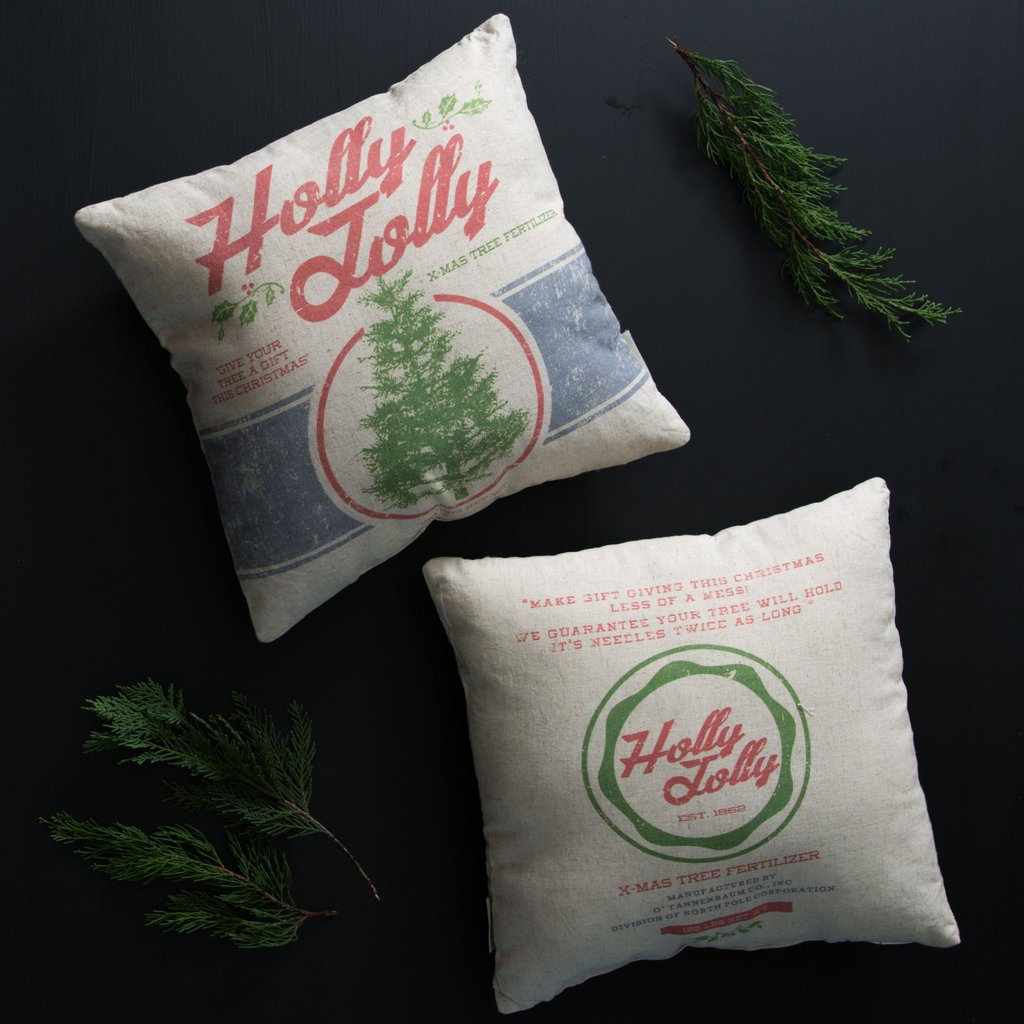 Magnolia Market Holiday Pillow