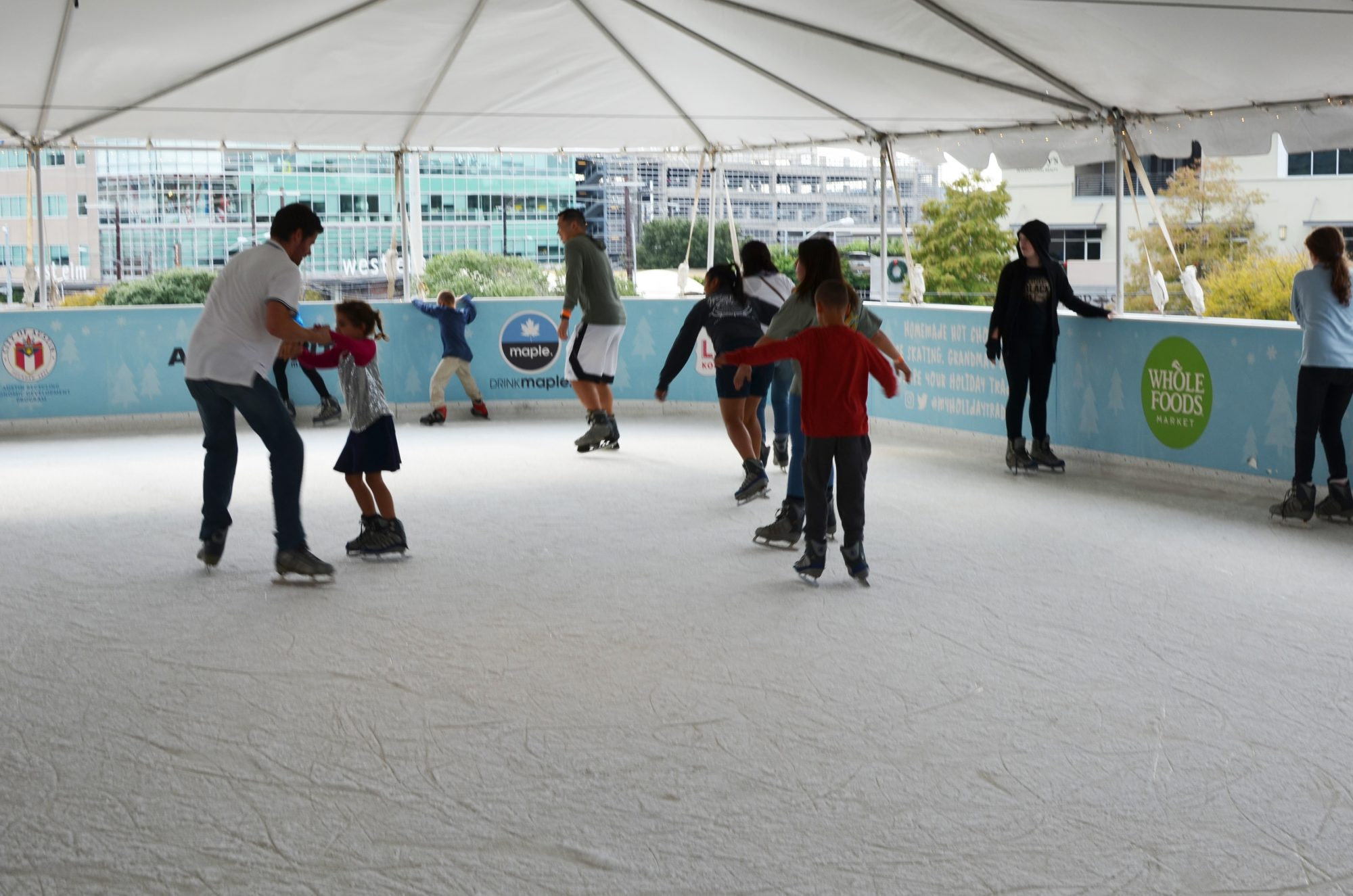 Whole Foods Ice Skating