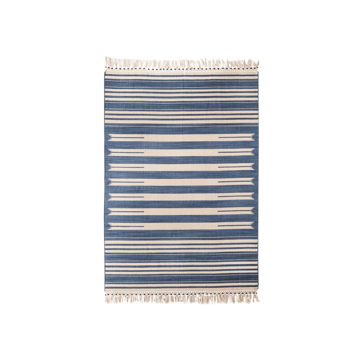 Mudhut Beaded Stripe Area Rug