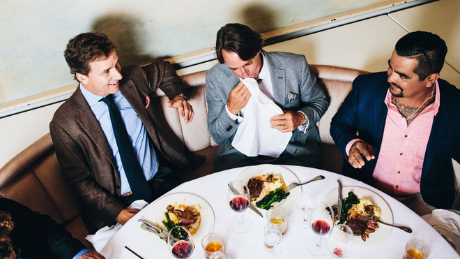 John Besh and Cooper Manning's New Orleans Holiday Party