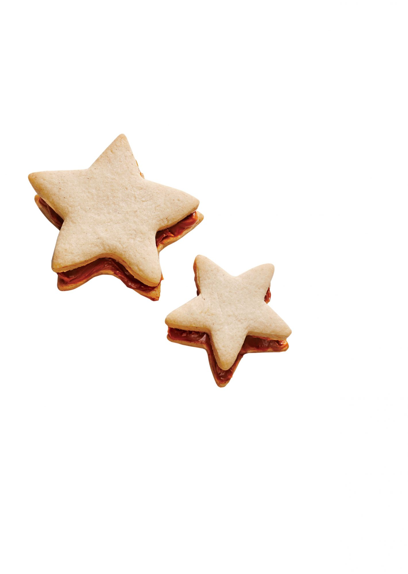 Spiced Stars with Cookie Butter