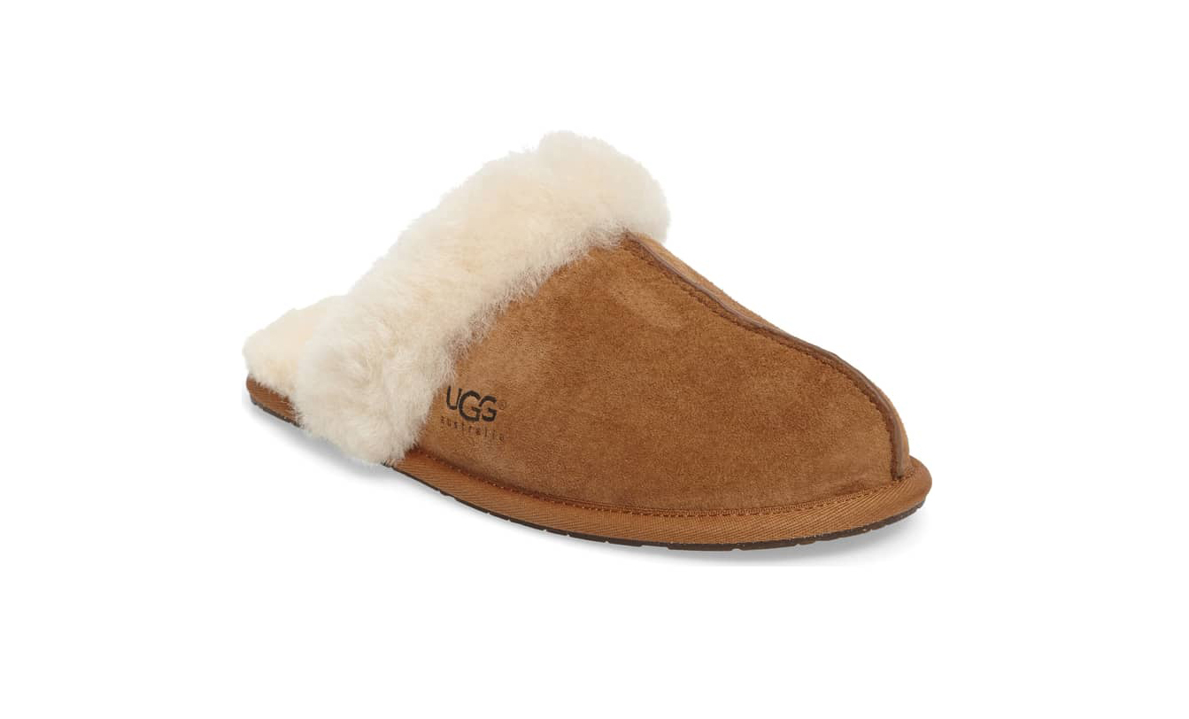 Scuffette Shearling Slide Slipper