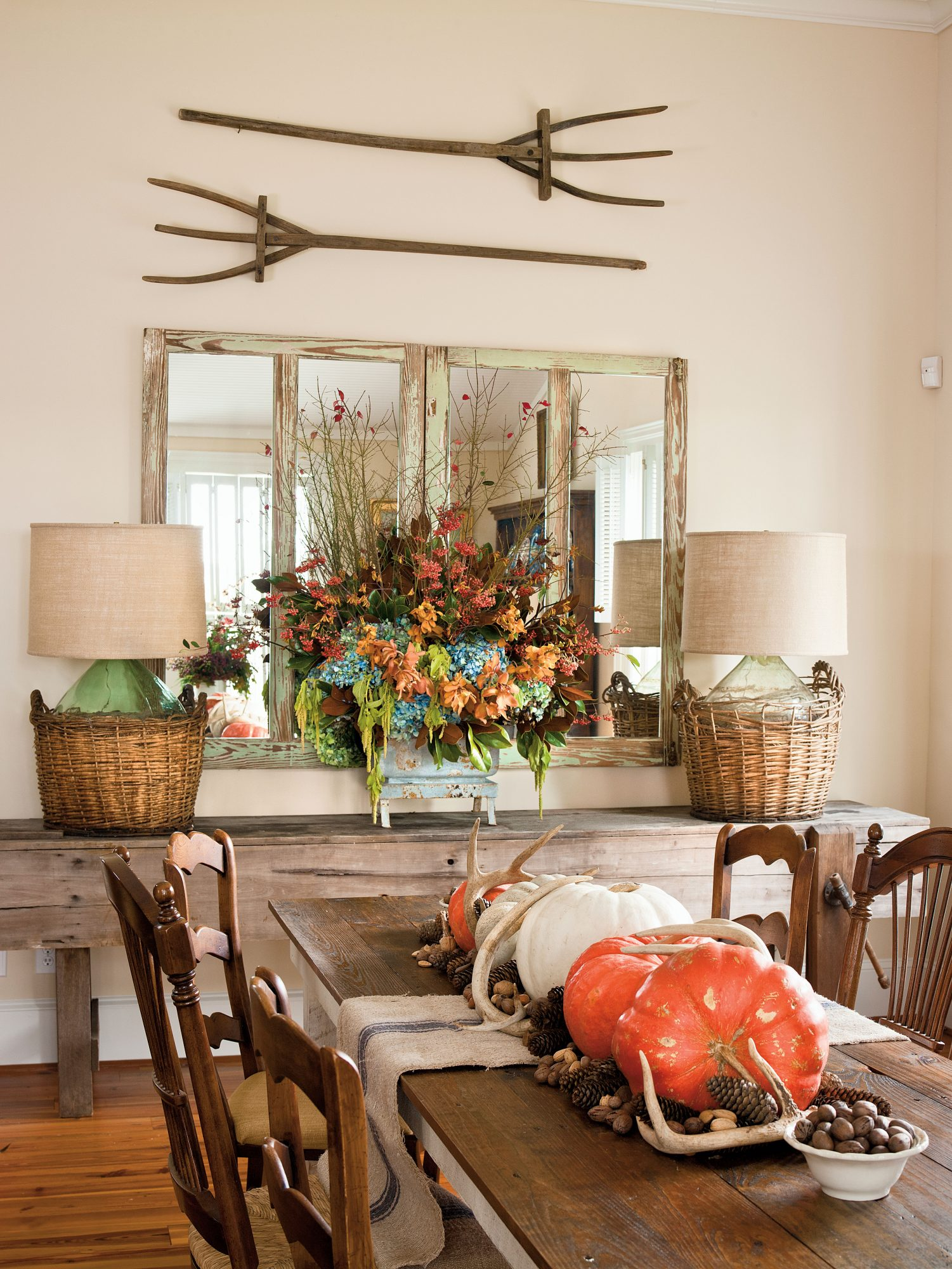 P. Allen Smith Cottage Dining Room