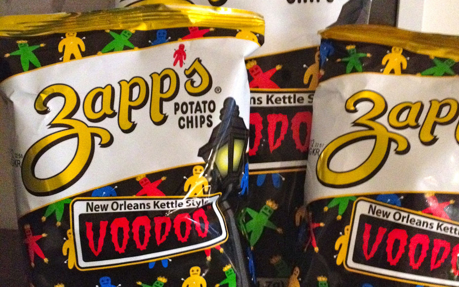 Zapp's Voodoo Chips and a Swamp Pop