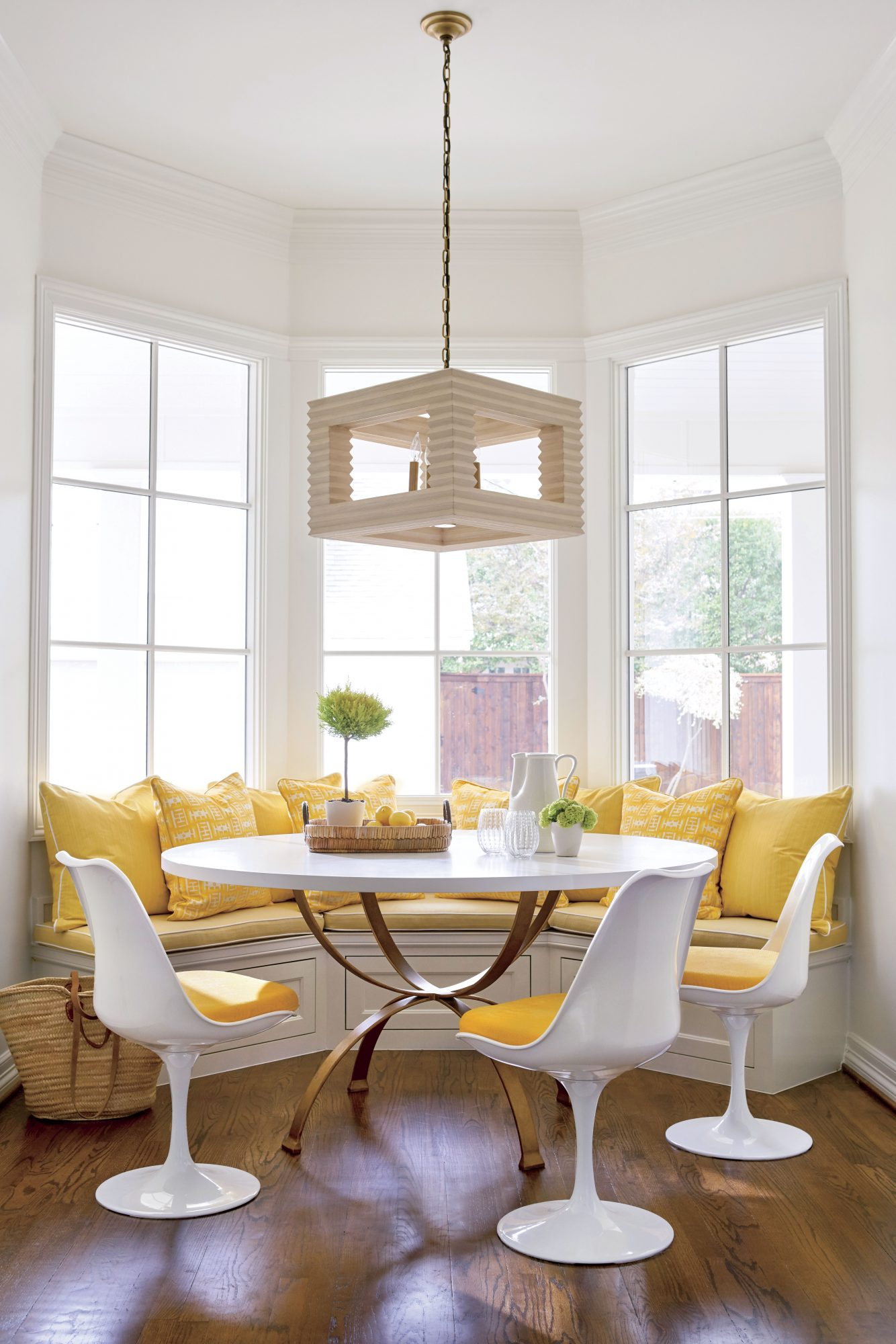 Amy Berry Yellow Breakfast Nook