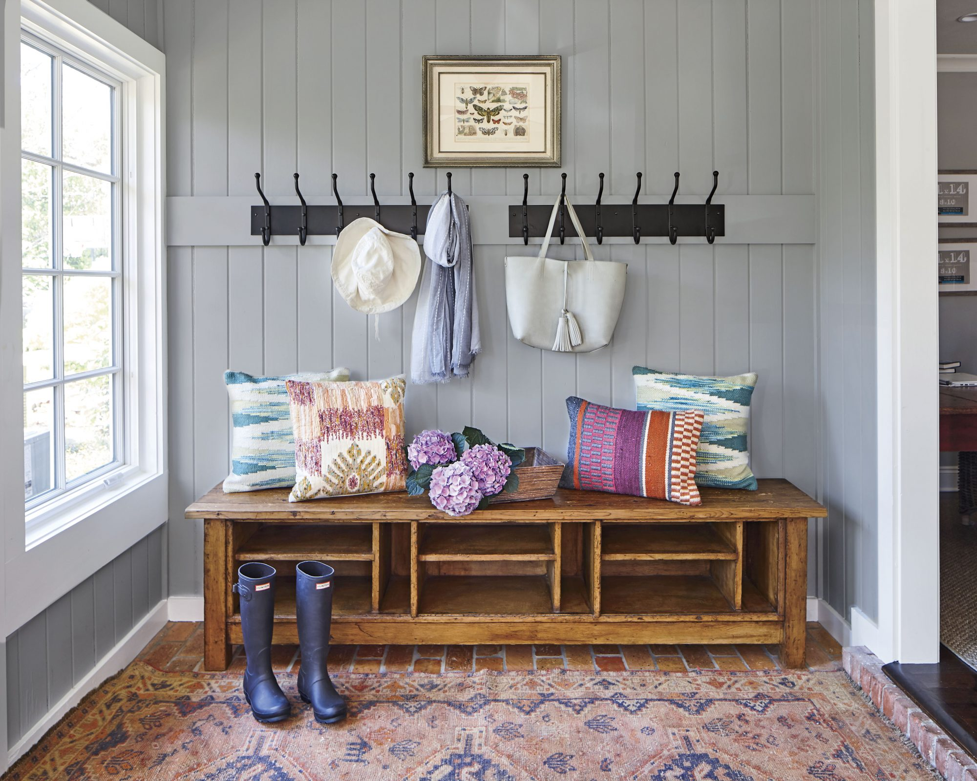 Lacy Philips Gray Mudroom