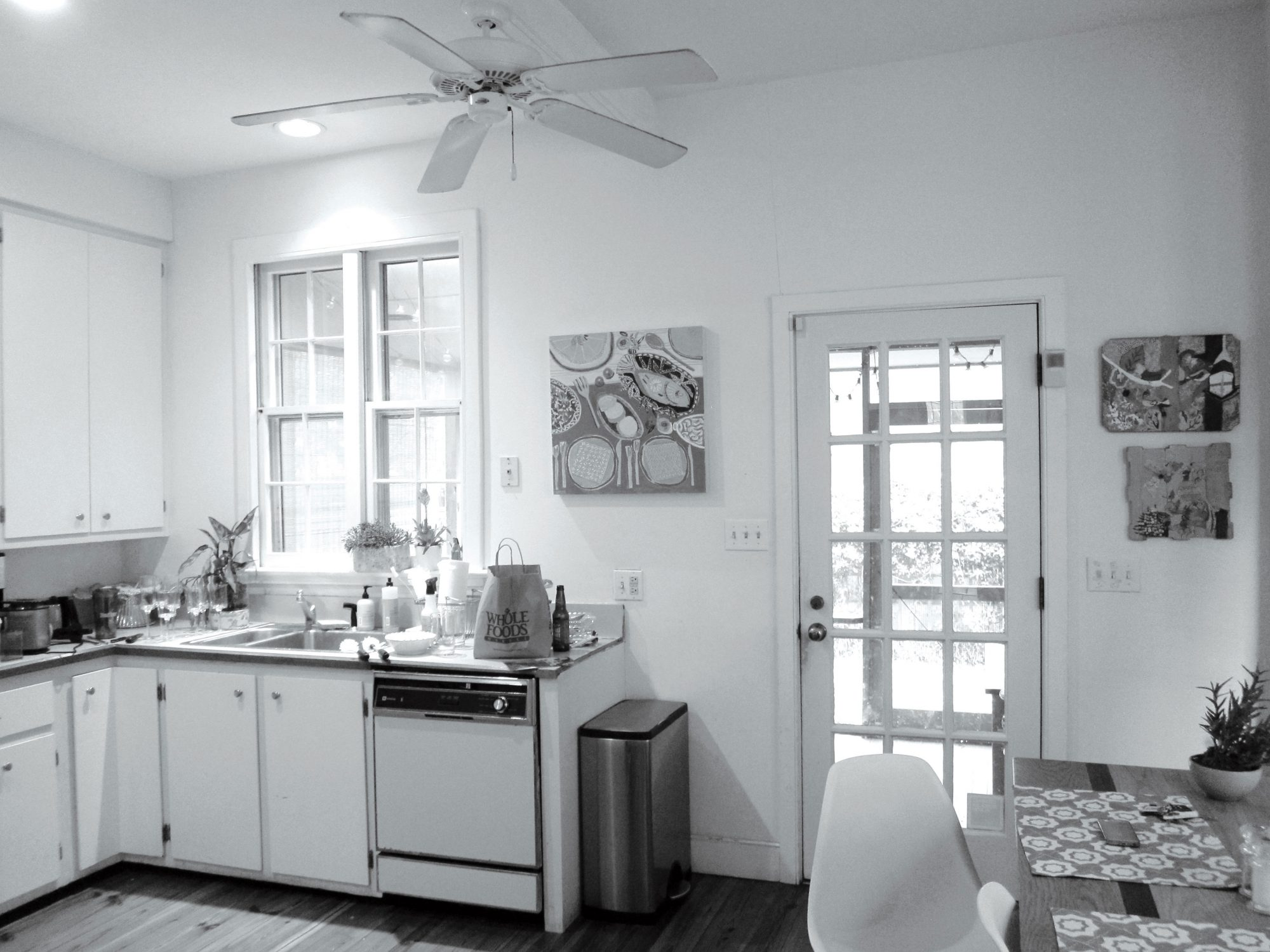 A Charleston Single House: The Kitchen Before