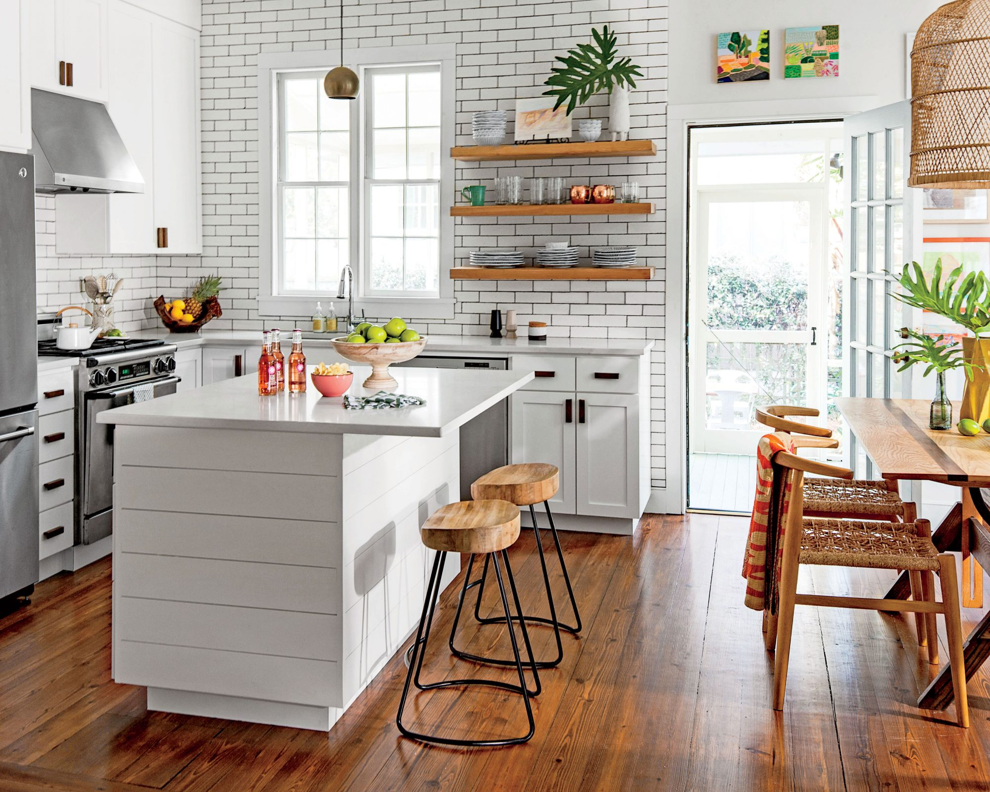 A Charleston Single House: The Kitchen After