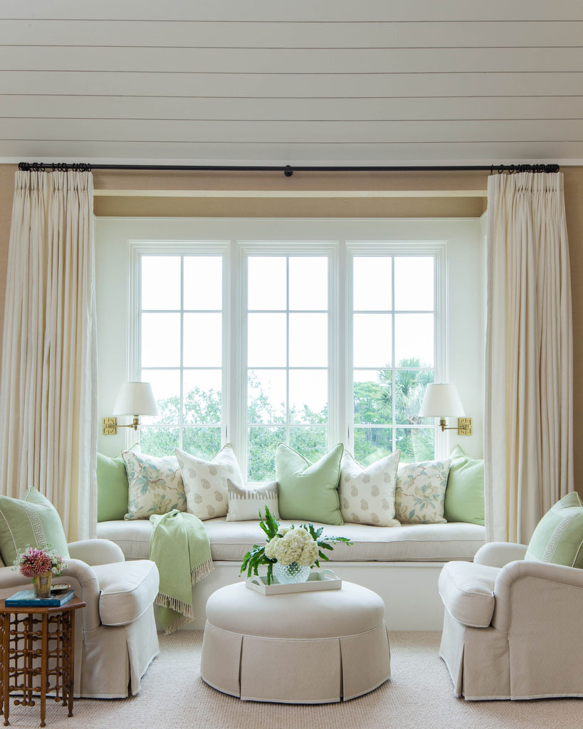 Window Seat with Club Chairs