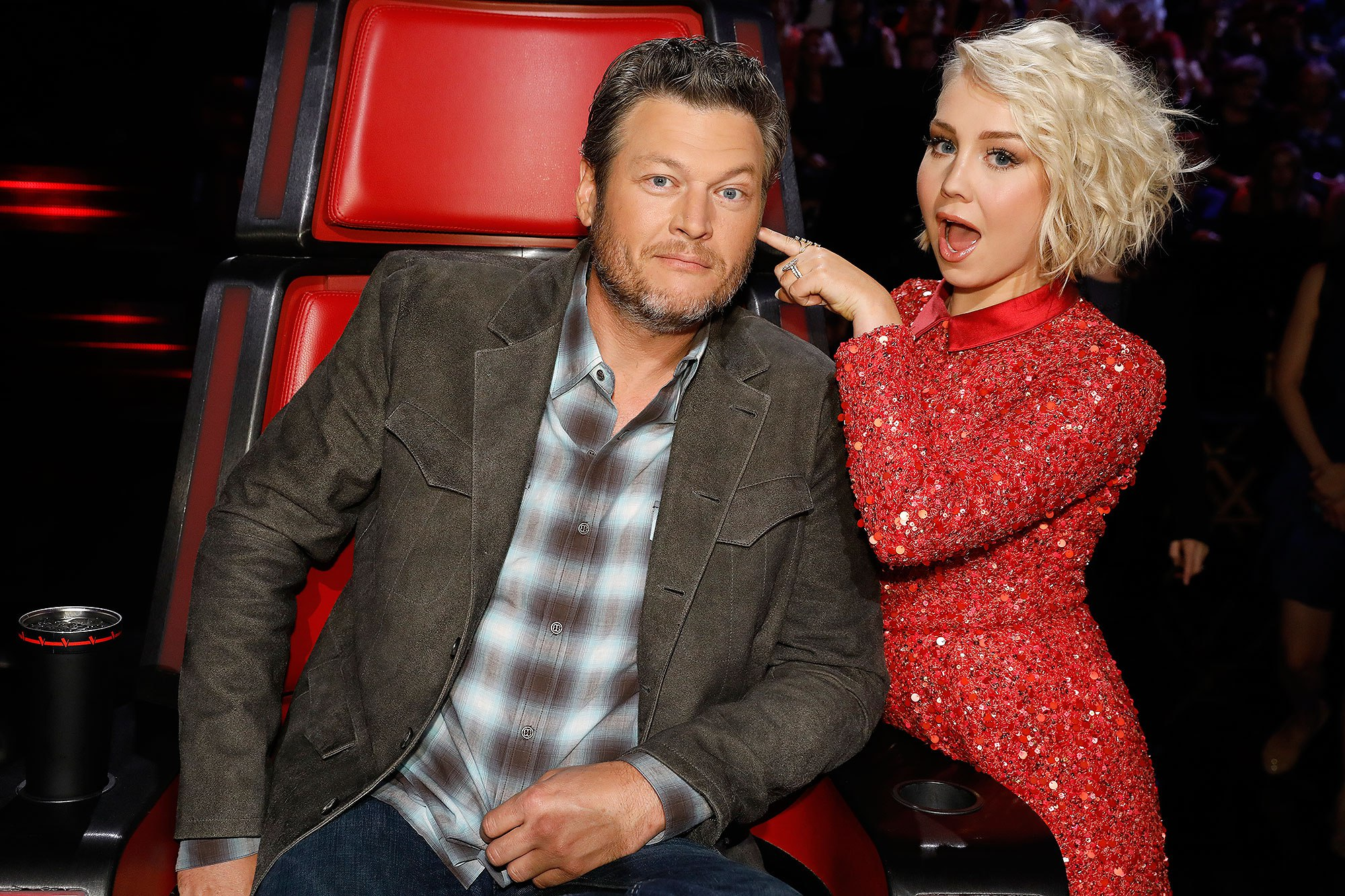 Blake Shelton and RaeLynn