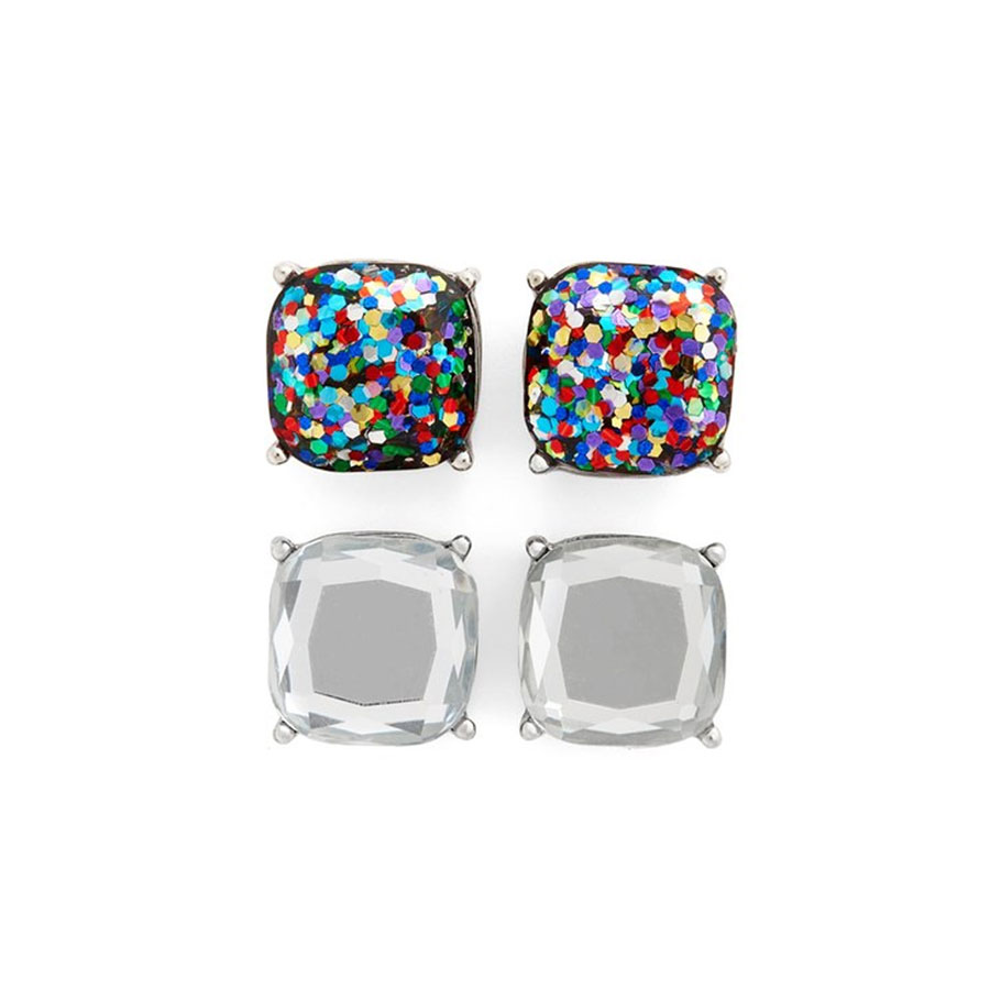 BP Square Stud Earrings