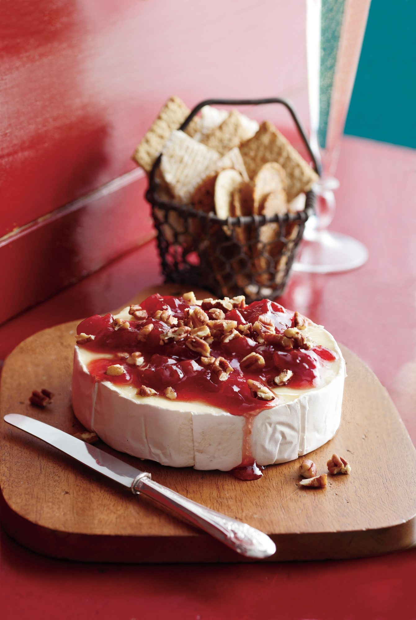 Cherry-Pecan Brie Southern Living