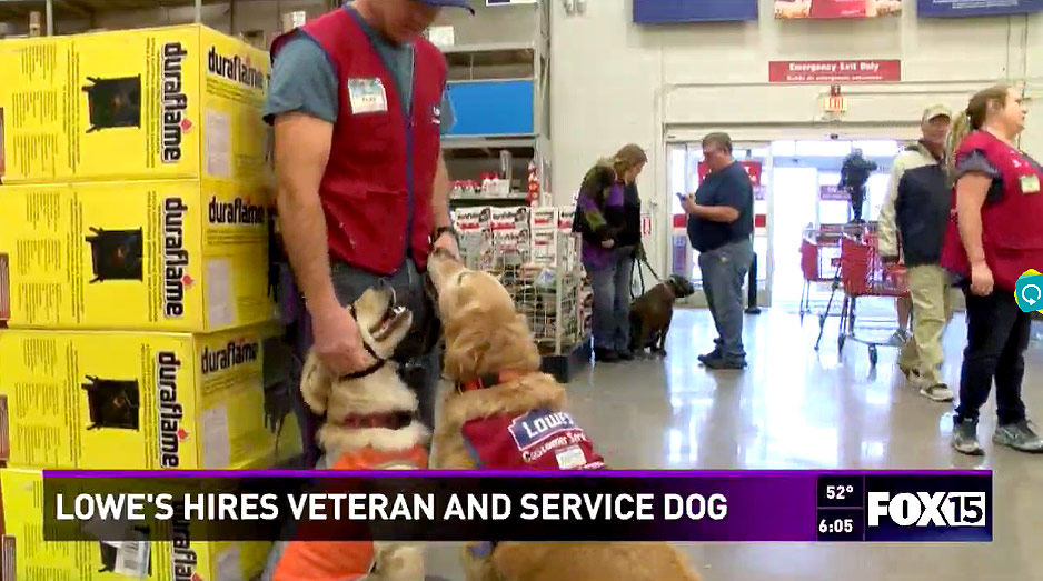 http://www.king5.com/features/abilene-lowes-hires-veteran-and-his-service-dog/363549405