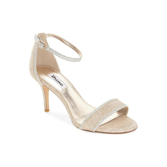 "Dune London ""Maria"" Ankle Strap Sandal"