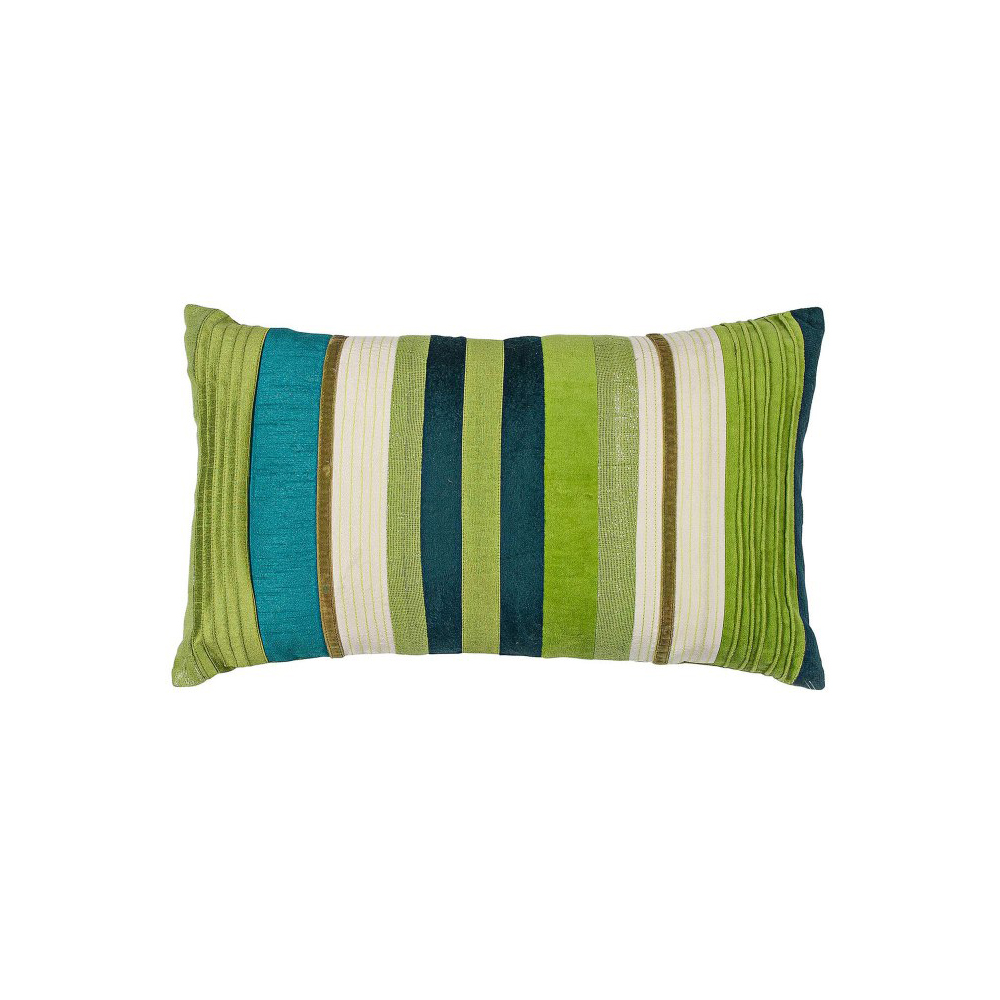 Verdant Teal Green Pillow