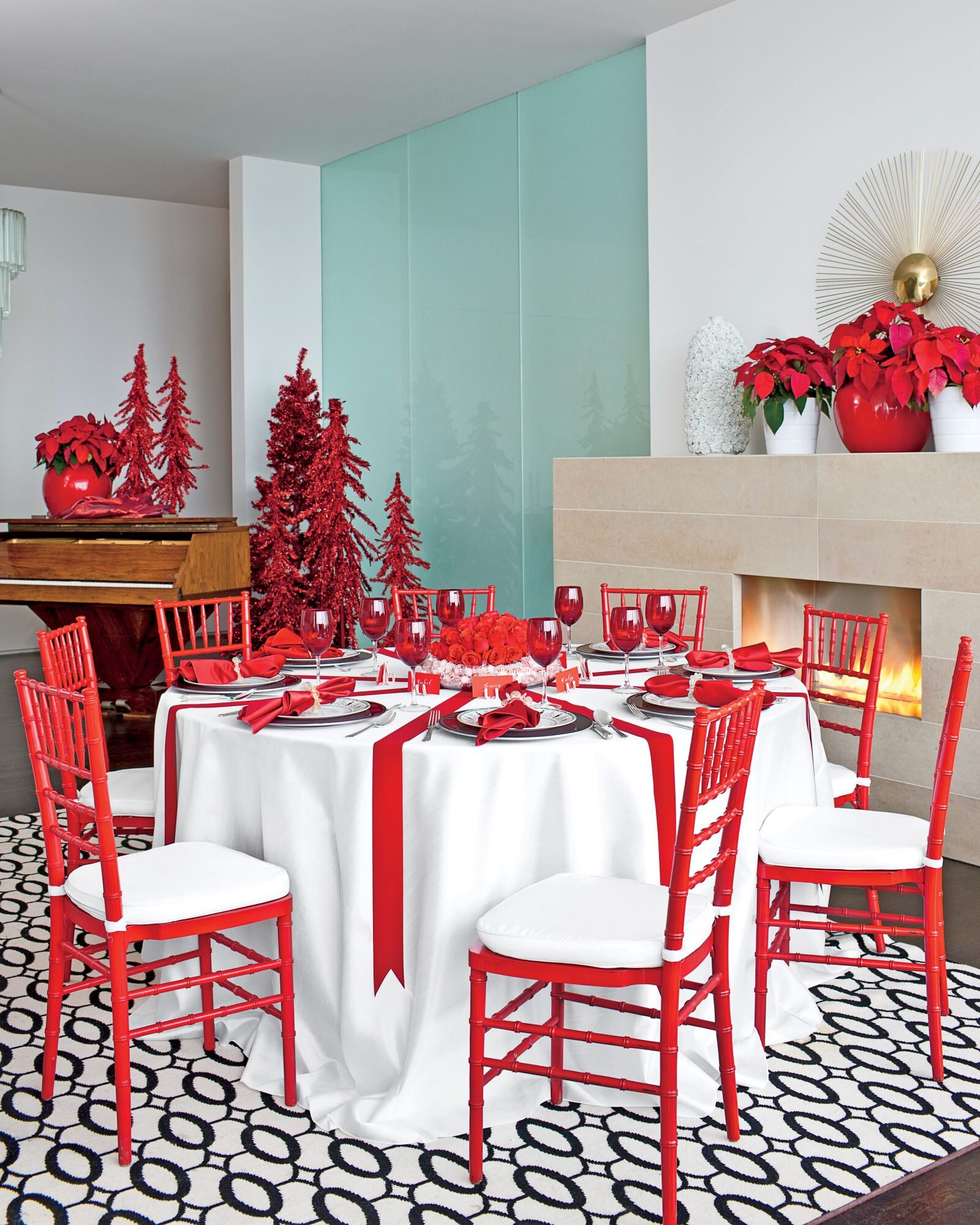 Christmas In The Dining Room Southern